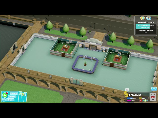Two Point Hospital - Ep 5 - Mitton University
