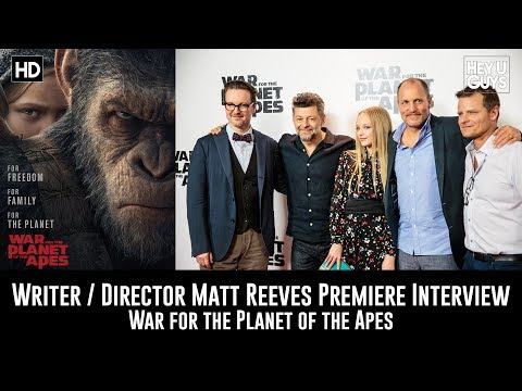 Director Matt Reeves Premiere Interview - War for the Planet of the Apes