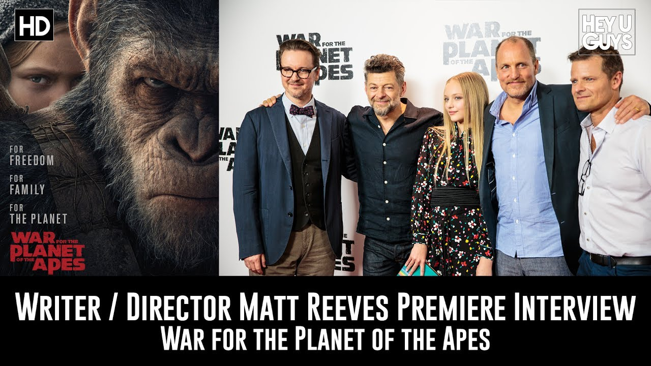 Download Director Matt Reeves Premiere Interview - War for the Planet of the Apes