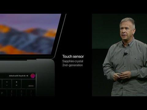 MacBook gets Touch ID fingerprint scanner (CNET News)