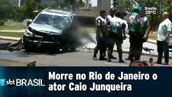 Morre no Rio de Janeiro o ator Caio Junqueira   SBT Brasil (23/01/19)