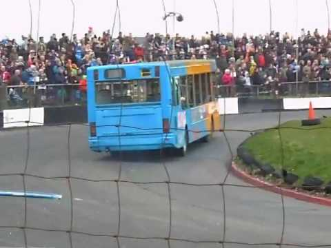 Bus Racing Part 1 Buxton 17th April 2017
