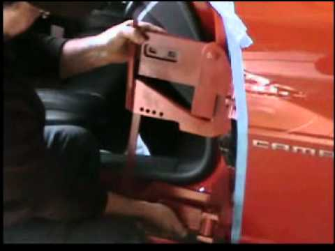 & Camaro 2012 Lambo/Vertical door kit - YouTube