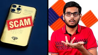 Gold iPhone 11 Pro - The Smartphone Scam Explained | ESCOBAR GOLD 11 Phone Scam!