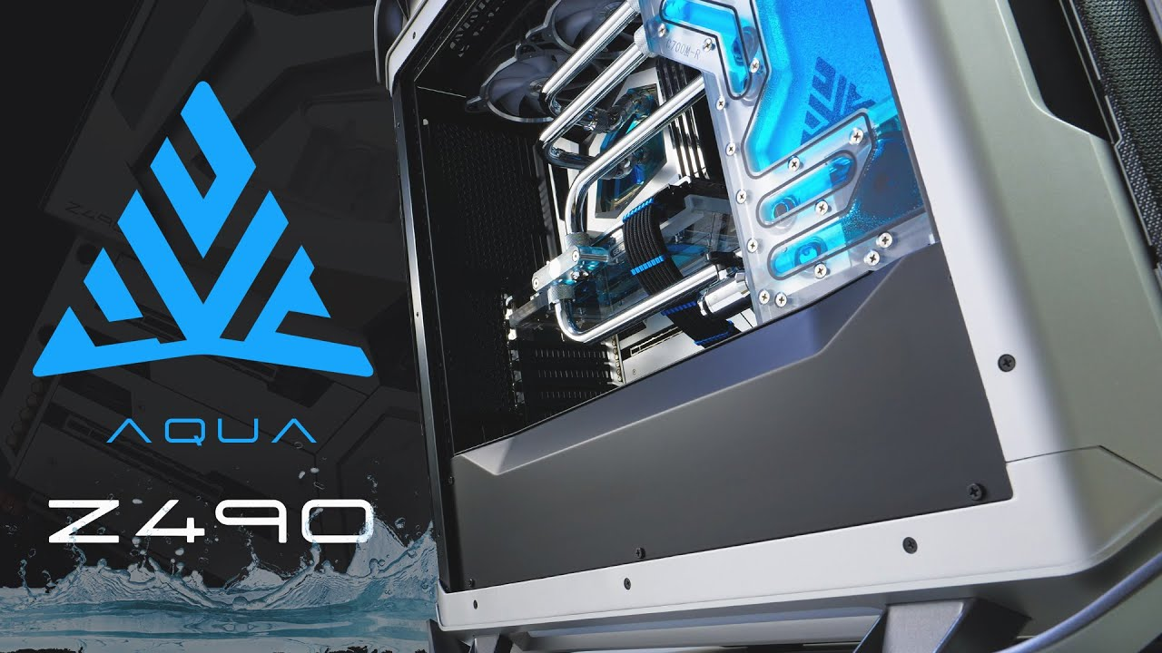 THE AQUA IS BACK! Z490 AQUA, 10900K Time-lapse Build