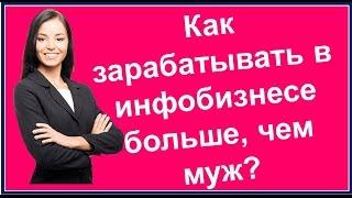Зинаида Лукьянова: как зарабатывать в инфобизнесе больше, чем муж?