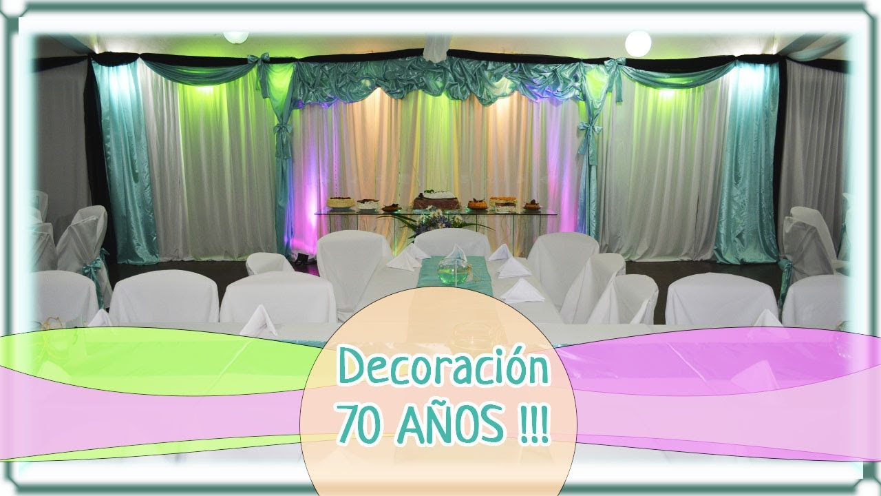 decoraci n 70 a os verde negro y blanco youtube