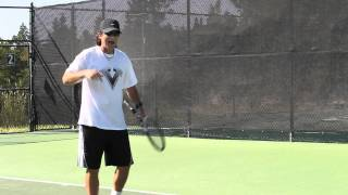 How To Handle The High Ball To Your Backhand Side