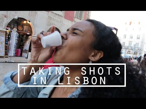 GETTING TIPSY OFF GINJINHA IN LISBON | DamonAndJo