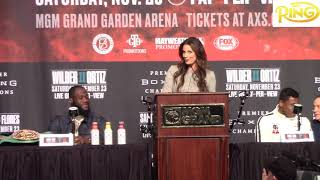Wilder vs Ortiz 2 Final Press Conference: Both fighters focused on delivering a knockout
