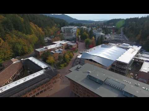 Western Washington University Aerial - 4K