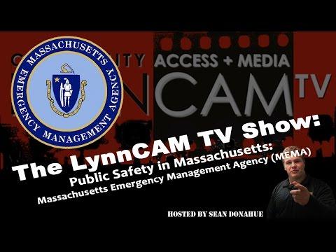 LynnCAM TV Show   Public Safety In MA: MEMA (October 1, 2014)