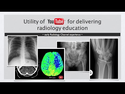YouTube and Radiology Education - the early Radiology Channel experience