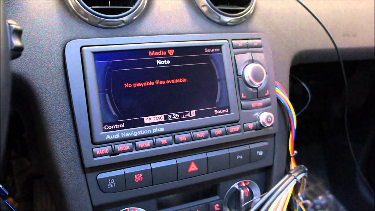 Audi RNSE LED Bluetooth MDI YouTube - Audi rns e