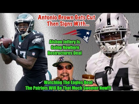 antonio-brown-to-the-patriots...i-don't-sweat-them-at-all!-|-alshon-jeffery-is-staying-in-philly!!!!
