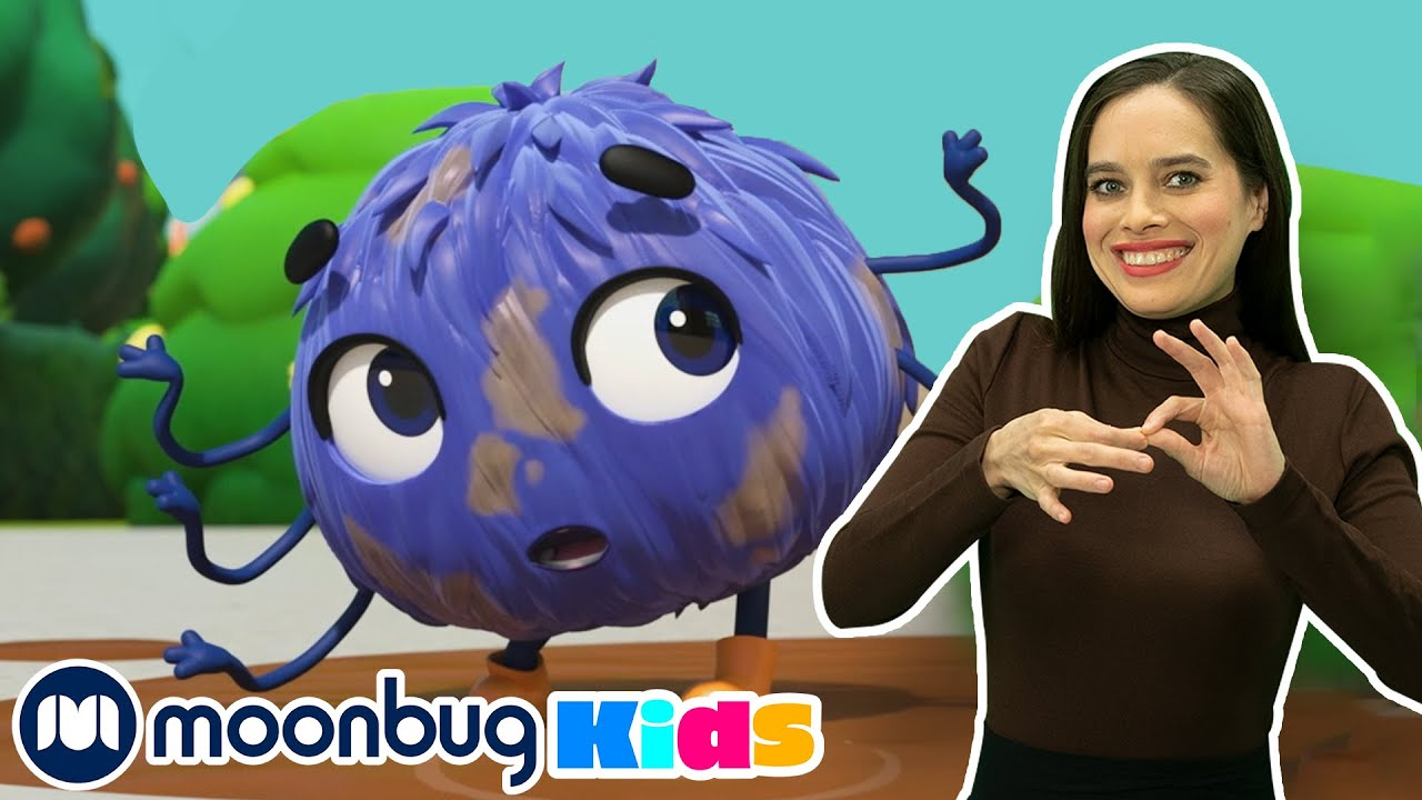 Itsy Bitsy Spider | Sign Language For Kids | Kids Cartoon | Go Buster! | ASL