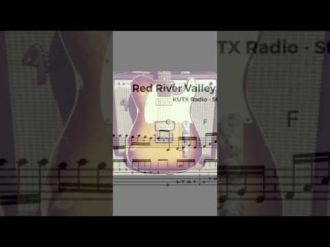 One minute guitar lesson: Red River Valley - Bill Frisell (solo) transcription