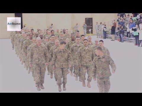101st Airborne Division Currahee Welcome Home Ceremoney, Fort Campbell, Jan. 2014.