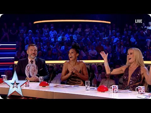 Stephen plays Who Said What with the Judges | Semi-Final 5 | Britain's Got More Talent 2017