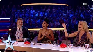 Stephen plays Who Said What with the Judges   Semi-Final 5   Britain's Got More Talent 2017