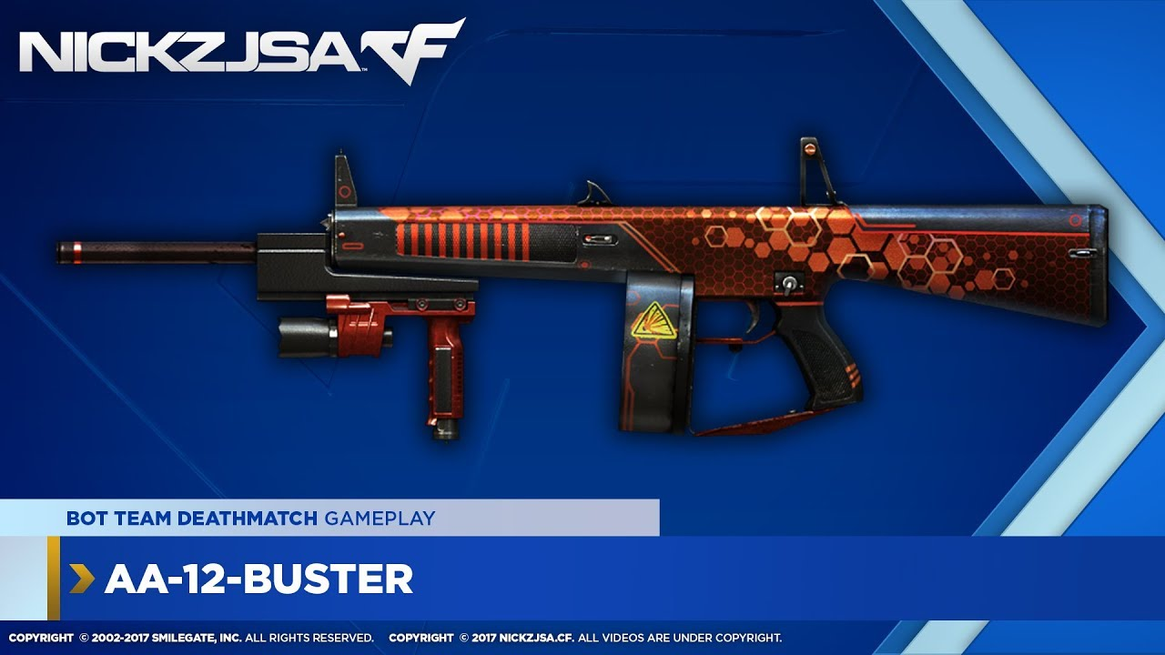 AA-12-Buster (PVP) | CROSSFIRE China 2.0