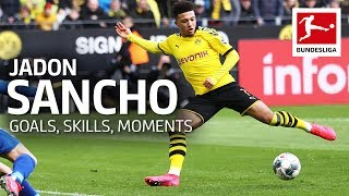 Best of Jadon Sancho Best Goals Skills Moments and More