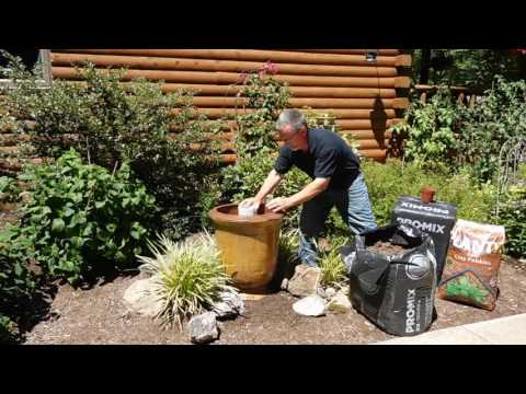 How To Properly Fill A Large Plant Pot