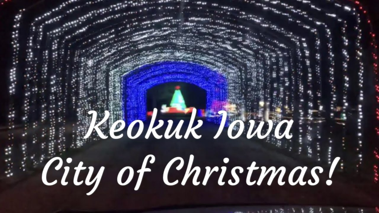 Keokuk Iowa City Of Christmas, Display