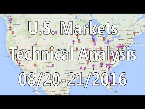 [ Part One ] Weekend U.S. Market Analysis August 20, 2016