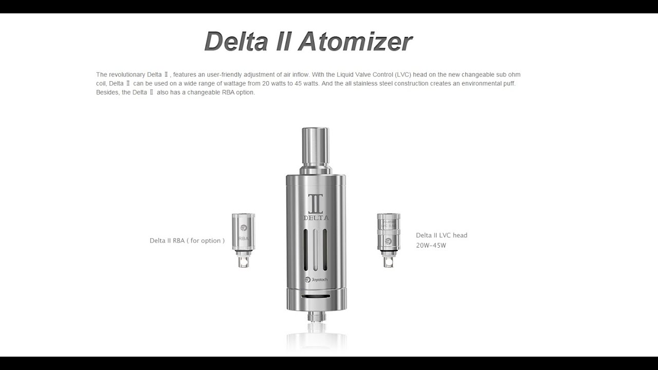 Joyetech Delta 2 Review - R.I.P. Atlantis and Sub Tank - VapingwithTwisted420