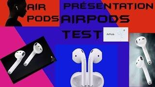 Test AirPods Apple Déballage Ecouteurs Sans Fils En Français Unboxing