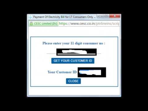 CESC Online Bill Payment