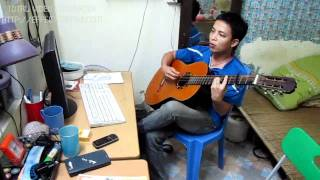 dau pho em qua(guitar by huan).flv