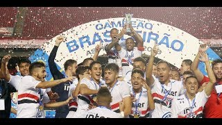 São Paulo 2 x 1 Internacional - Final do Brasileiro de Aspirantes Sub-23 2018 (24/11/2018)