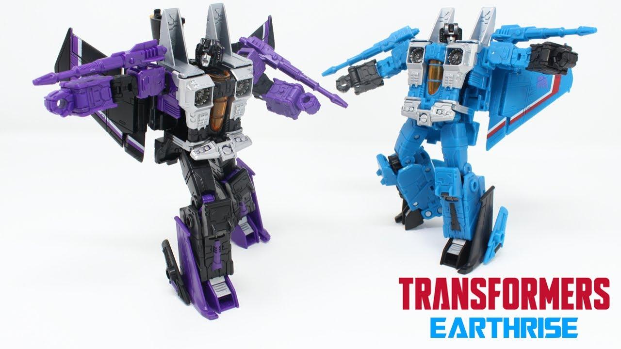 Earthrise Cybertronian Villians Skywarp and Thundercracker Review by PrimeVsPrime