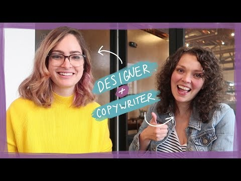How designers & copywriters work together!