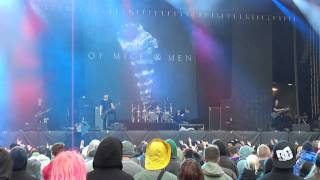 Of Mice & Men - Glass Hearts (Live @ Bråvalla Festival Sweden 2014)