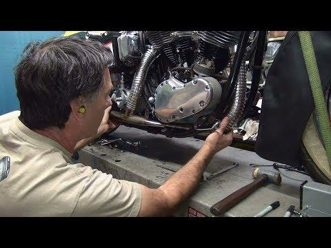 1965 panhead #155 74ci flh motor rebuild and bike repair harley by tatro machine