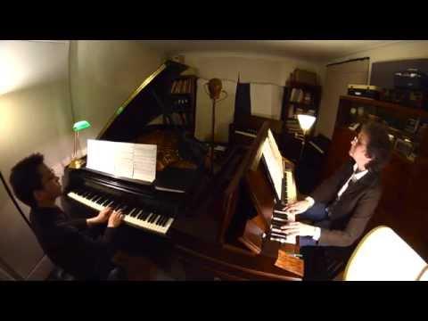 Kurt Weill: Overture Threepenny Opera for harmonium & piano (video)