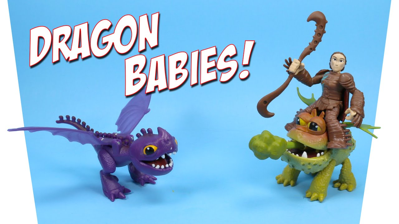 How To Train Your Dragons Valka & Baby Gronckle & Scuttleclaw Review   Youtube