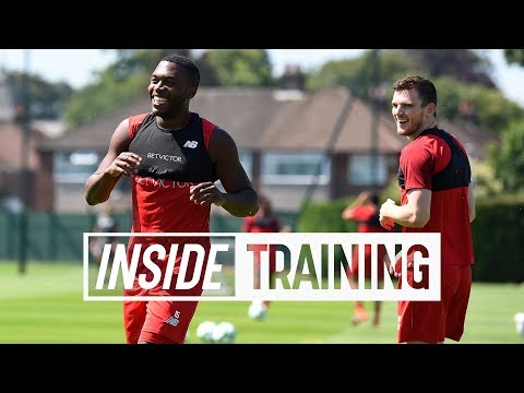 Inside Training: Intense four-sided training match