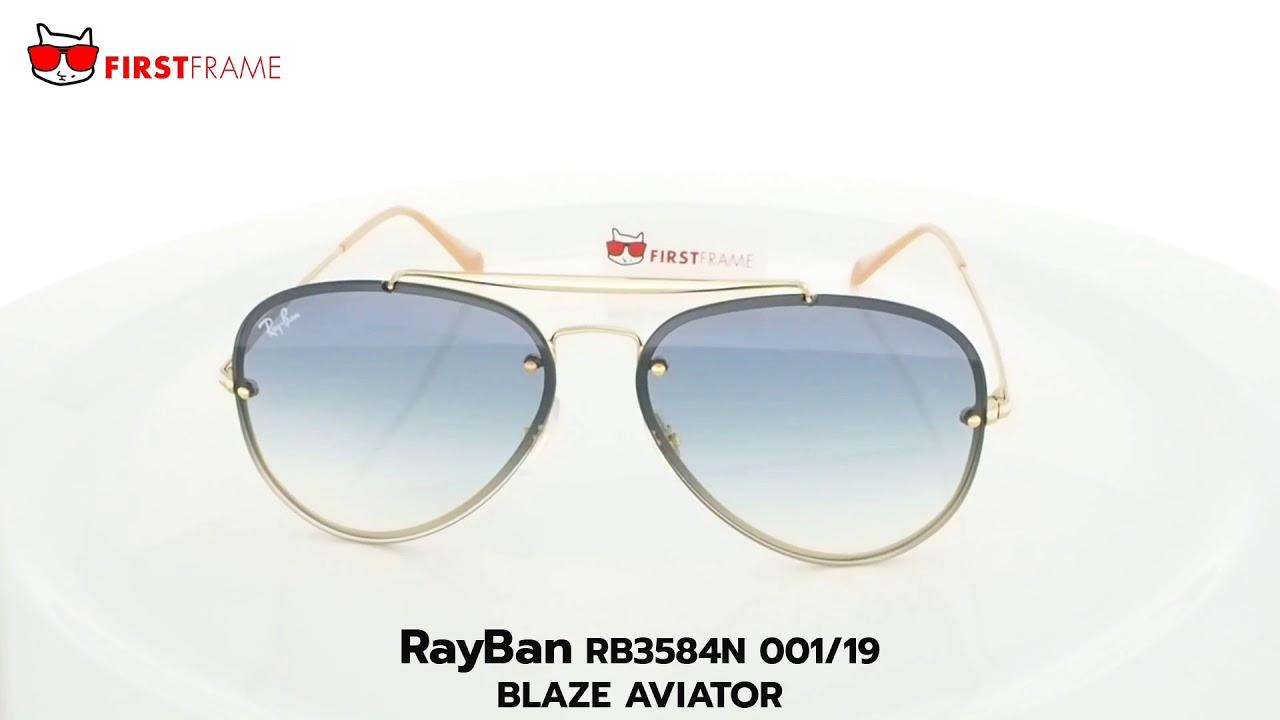 36bb2e7e75 RayBan RB3584N 001 19 BLAZE AVIATOR - YouTube
