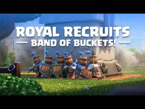 Clash Royale: Introducing Royal Recruits! (New Card!) video screenshot