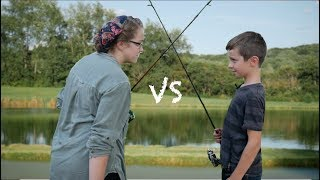 Brother vs Sister! /The Fish Off
