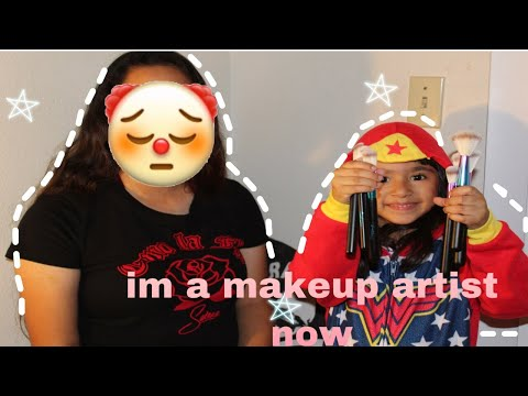 I DID MY SISTERS MAKEUP ! *I used her James Charles palette* thumbnail