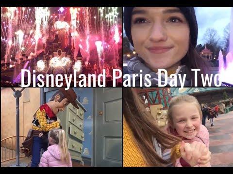 DISNEYLAND PARIS DAY 2