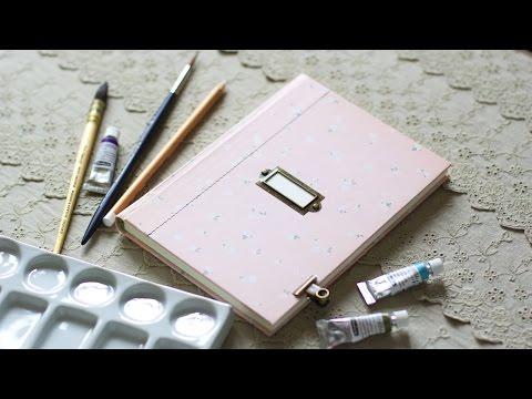 Как сделать блокнот с нуля, коптский переплет