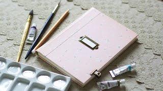 Как сделать блокнот с нуля, коптский переплет(Этот видео урок поможет сделать блокнот, используя минимум специальных инструментов. Тут наглядно показан..., 2015-05-18T12:36:39.000Z)