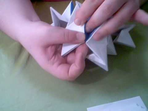 Modular Origami - spiky balls and stellated polyhedra models ... | 360x480