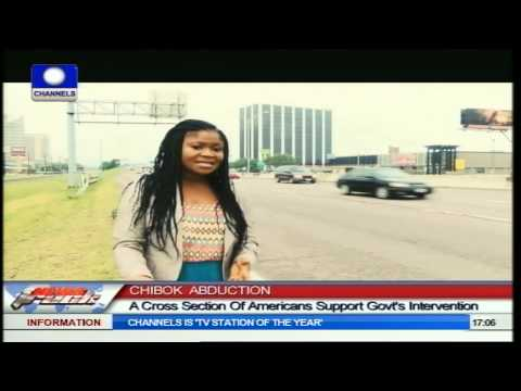 Chibok Abduction: Cross Section Of Americans Back U.S. Intervention